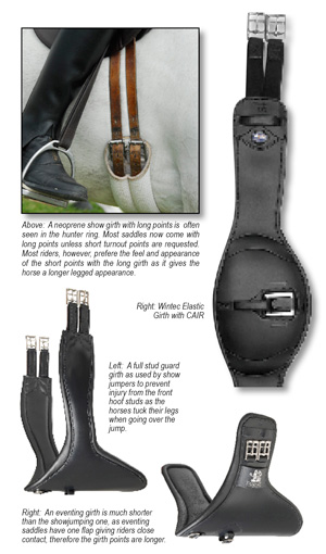 Hoofbeats Magazine - WHY that girth?