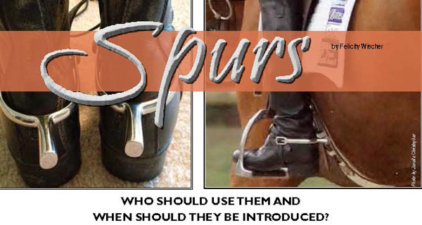 Hoofbeats Magazine Spurs Who Should Use Them And Who Should Not