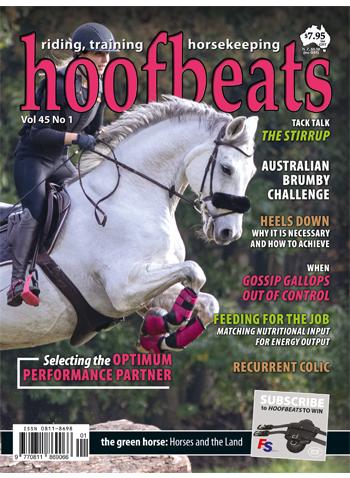 Hoofbeats Magazine - Equine Obesity and Laminitis